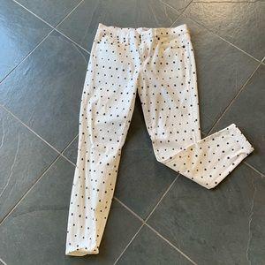JCrew toothpick pants